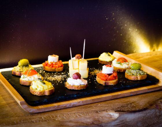 Formule Complémentaire Plaisir Gourmand Assiette de Toasts