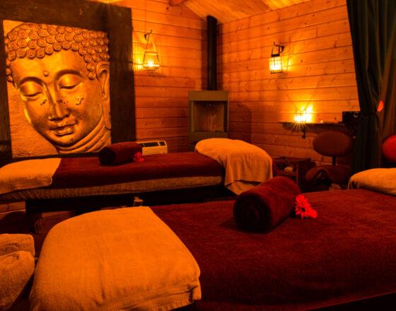 Salle de massage du centre Ô d'Ambiance à Leuze (Eghezée)